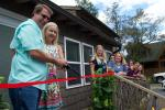 Manuel and Kathy Fick cut the ribbons for the new facility. Photo credit: Savannah Koval