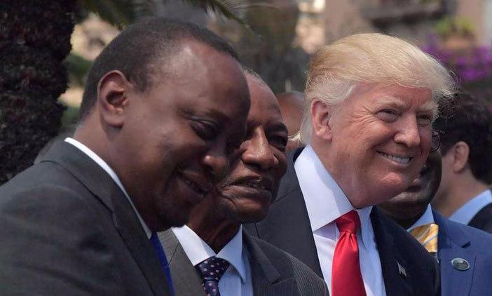 trump+Kenyatta
